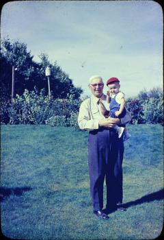 Oscar with Doug Olstad 1959ish